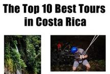 Best Things to DO in Costa Rica / From the perfect spot to relax in a hammock between to palm trees jutting out over the beach all the way up the excitement scale to rappelling waterfalls, these are our favorite things to do in Costa Rica