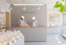Cafes / Inspiration from cafes and coffee shops around the world. These places tend to have the most cute and creative interiors.  / by Rove Concepts