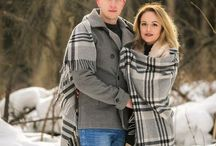 Love story / Our winter love story in the forest on the ouskirts of Moscow and inspiring couple photoshoots