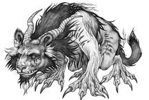 My character design illustration / series of drawings of phantasmagorical creatures by Karolina Szymkiewicz