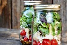 Repurpose Reuse Recycle / We love to see things used in innovative ways...especially glass jars and Mason's to be specific!