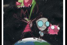 Invader Zim & Other Cartoons