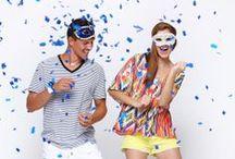 Alá lá ô no Carnaval Damyller! / Por aqui nós já estamos nesse clima gostoso de Carnaval e separamos looks perfeitos para curtir os dias de folia no maior estilo! / by Damyller