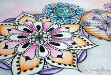Zentangle, Mandala & Doodle