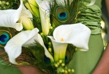 A Mannequin Wedding - Floral Ideas / Floral Designs in Peridot and Tiffany Blue / by Suzanne Heintz