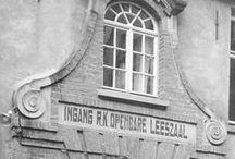 Uit een ouwe doos / In 2016 is het 100 jaar geleden dat de r.k. leeszaal en boekerij Sint Catharina werd opgericht. Op dit prikbord staan foto's, filmpjes en plaatjes van allerlei aspecten van de Bibliotheek Eindhoven uit de afgelopen 100 jaar.