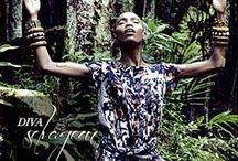 Diva Selvagem - Animal Print / Use o contraste de cores do animal print para mostrar seu poder! Inspire-se em nossa deusa selvagem, aposte na tendência e se torne uma diva urbana! / by Damyller