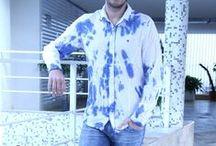 Moda Para Homens - Tie-dye / Guilherme Cury do Blog Moda Para Homens ensina como combinar a camisa de tie-dye em look para o dia-a-dia! / by Damyller