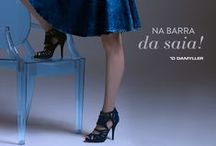 Barra da Saia! / Com cintura alta e comprimento na altura dos joelhos, a saia aparece mais feminina do que nunca e conquista espaço até nos looks do dia-a-dia! / by Damyller