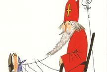 #Sint en Piet / Boeken en digitale prentenboeken en praatplaten over het sinterklaasfeest