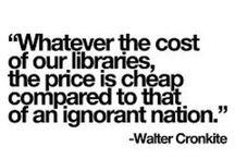 #Library quotes / Citaten en uitspraken over bibliotheken