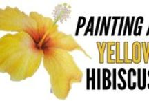 My Inktense Videos / On this board you can find Inktense tutorials of my paintings of flowers and butterflies. The videos I make show how to paint with Inktense blocks on watercolor paper.