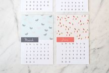 Planers/calendar/notes