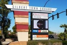 Gilbert Town Square / Gilbert Town Square is a 66 acre shopping center that is a true downtown venue with an exciting blend of shopping, dining and entertainment choices.
