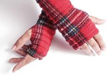 Wristees / Trademarked fingerless gloves, handmade in Bristol, UK www.annafalcke.com