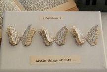 DIY newspaper crafts