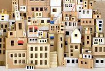 DIY cardboard boxes