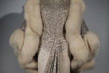 Vintage Couture / Glamorous vintage dresses, skirt suits, and stylish yet over the top accessories!