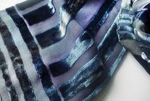 silks & velvets / Devoré, silks, velvets, fabrics