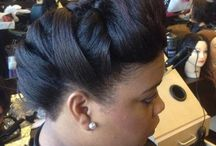 HAIRSTYLES / A  beautiful coiffed hairstyle completes the look! / by Patricia Onuiri