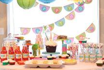 Evas Birthday Party ideas