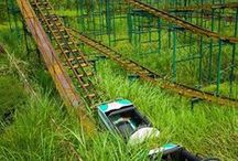 Abandoned Theme Parks / They once shined in their glory, but are no longer here. The forgotten ThemeParks.