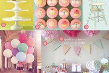 Mesa de dulces / Decoración y dulces para fiestas