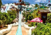 Water Theme Parks / Join me as I take you through the water parks of the world, a soaked-filled quest! Walt Disney World parks (Blizzard Beach, Typhoon Lagoon), Volcano Bay, Aquatica, and more!