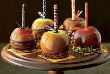 Candy apples! / Candy apples=Fall time! / by Jaycee Checketts