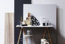 WORK SPACE BY SOSTRENE GRENE / Stationary, work space and office inspiration.  Design and pictures by Sostrene Grene.