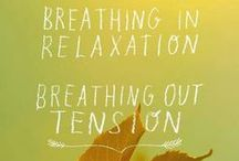 Just Breathe! - Pranayama Ideas / The ancient art of breathing, pranayama, can be a potent tool to change things in your life. Depending on the breath it can calm you or bring energy. By working with all the subtle layers of the body, the breath is a very effective and gentle way to integrate mind, body, and spirit.