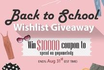 Back to School Wear / 10,000$ giveaways now! Refer the details by clicking here http://goo.gl/C9sDQX