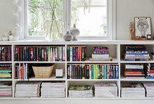 Bøker og hyller