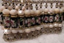 Cloisonne / Handmade semplice usando cloisonne in combinazione con altri tipi di perline.