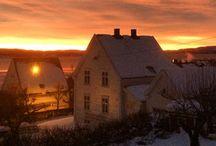 Gjøvik. Norway. / My hometown. Photos by me.