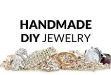 Inspiring Handmade DIY Jewelry / Here you find many fresh and inspiring ideas of handmade jewelry, and some help with DIY tutorials! Necklaces & Pendants, Bracelets, Rings, Earrings, Brooches and Men's Jewelry... So, get some inspiration or just have a look and relax :)