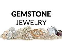 Gemstone Jewelry / Here you find many fresh and inspiring ideas of gemstone jewelry! Necklaces & Pendants, Bracelets, Rings, Earrings, Brooches and Men's Jewelry... So, get some inspiration or just have a look and relax :)