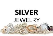 Silver Jewelry / Here you find many fresh and inspiring ideas of jewelry made of sylver! Necklaces & Pendants, Bracelets, Rings, Earrings, Brooches and Men's Jewelry... So, get some inspiration or just have a look and relax :)
