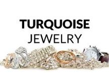 Turquoise Jewelry / Here you find many fresh and inspiring ideas of turquoise jewelry! Necklaces & Pendants, Bracelets, Rings, Earrings, Brooches and Men's Jewelry... So, get some inspiration or just have a look and relax :)