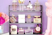 BEAUTY STORAGE! / Storage ideas for makeup, beauty, and hair care products