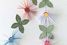 ORIGAMI AND PAPER CRAFTS / Anna and Clara share inspiration and projects made by others with their products. Find ideas with paper here.