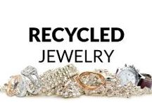 Recycled Jewelry / Here you find many fresh and inspiring ideas of jewelry made from Upcycled & Recycled materials! Necklaces & Pendants, Bracelets, Rings, Earrings, Brooches and Men's Jewelry... So, get some inspiration or just have a look and relax :)