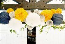 Mariage * Jaune / Idées et inspiration pour un mariage couleur jaune