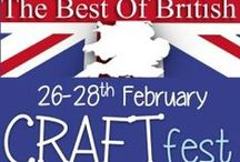 #CRAFTfest Sellers Items 2016 / Take a look at all the fabulous handmade items from lovely Craftfest Sellers.