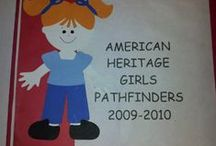 Pathfinders / American Heritage Girls unit for girls ages 5-6 and in Kindergarten.