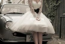 Short Wedding Dresses / Short wedding dresses are the best!