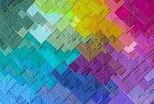 Colourful.
