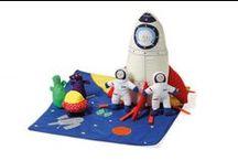 Juguetes de tela / Juguetes textiles de todo tipo: marionetas, peluches, muñecas de trapo.