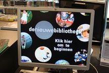 Almere, de Nieuwe Bibliotheek / De Nieuwe Bibliotheek in het centrum van Almere
