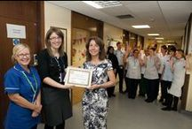 Champion of Champions Awards 2014 / To support Older People's Month this September, an Older People's and Dementia Champion of Champions celebration took place at Leicester's Hospitals to recognise staff for their commitment and drive to improve care for older people and people with dementia. Deputy chief nurse, Carole Ribbins and non-executive director, Jane Wilson presented surprise awards to staff on their wards.